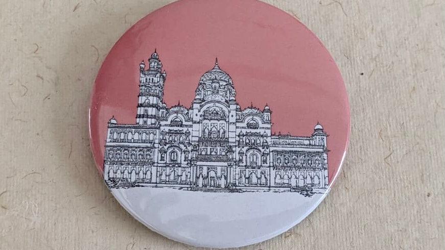 Laxmi Vilas Palace, Vadodra Badge (Quantity : 1 )