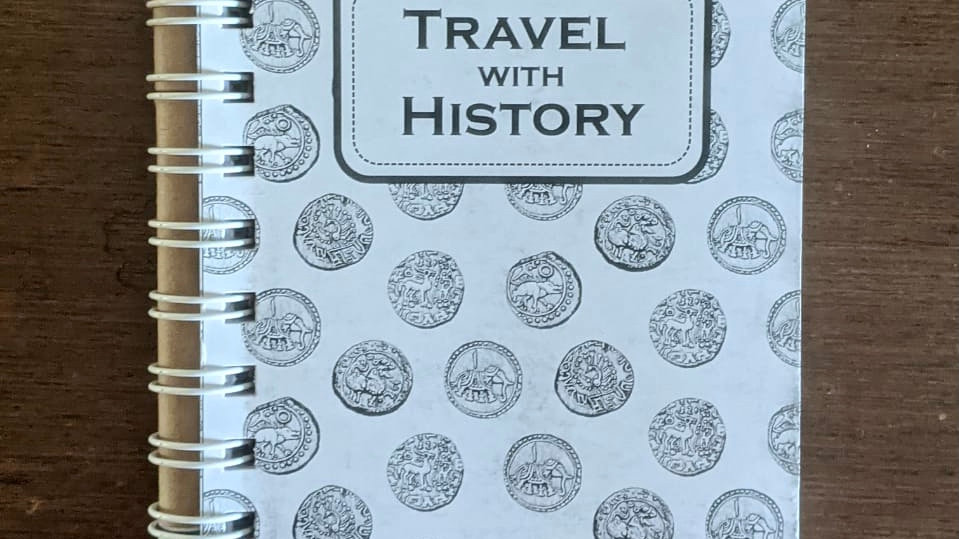 Travel with History Journal with Eco Friendly Pen with Seeds