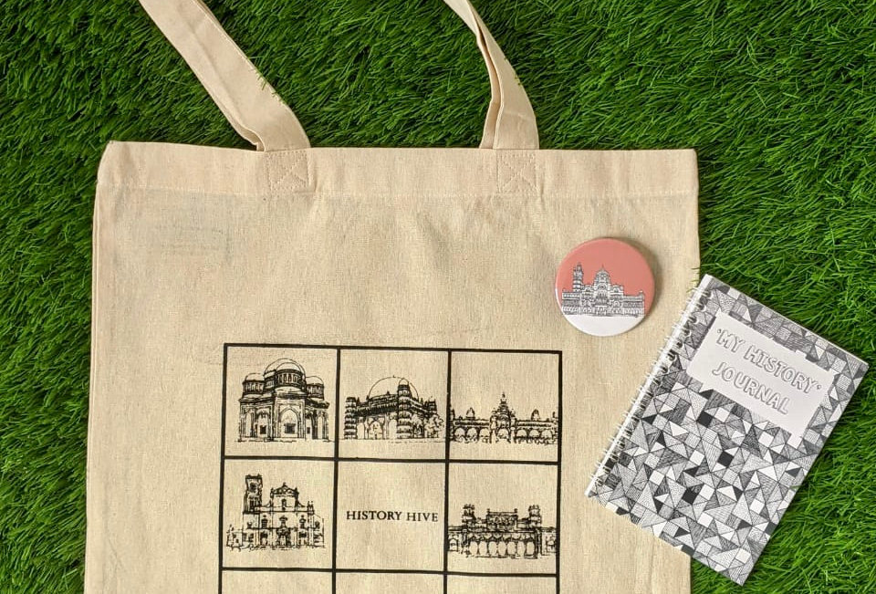 A Bag, a Journal and a Badge