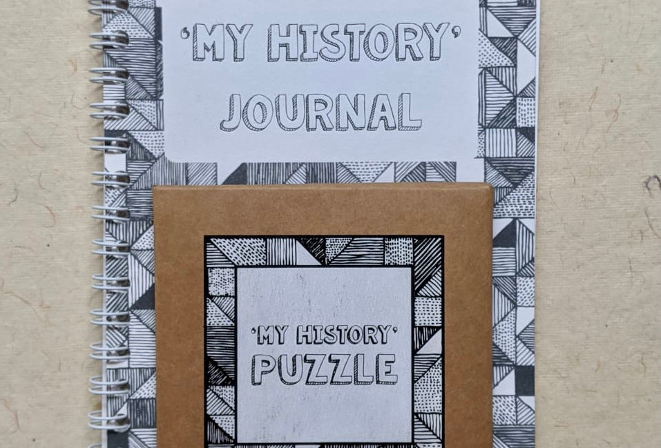 My History Journal + My History Tangram Puzzle Combo