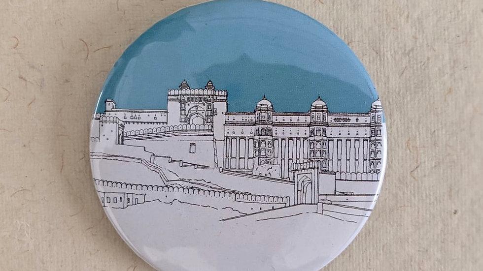 Amer Fort, Jaipur Badge (Quantity : 1 )
