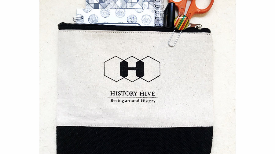 History Hive Pouch