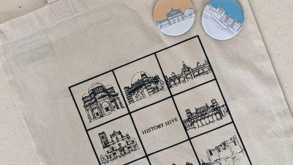 History Hive Tote Bag