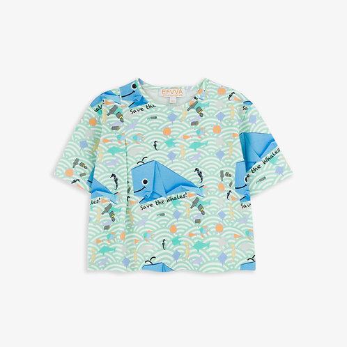 Whale Fold T-shirt