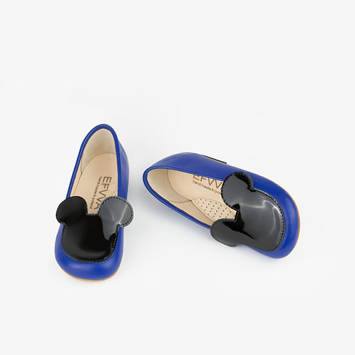 Miss Mouse Ballerinas Blue
