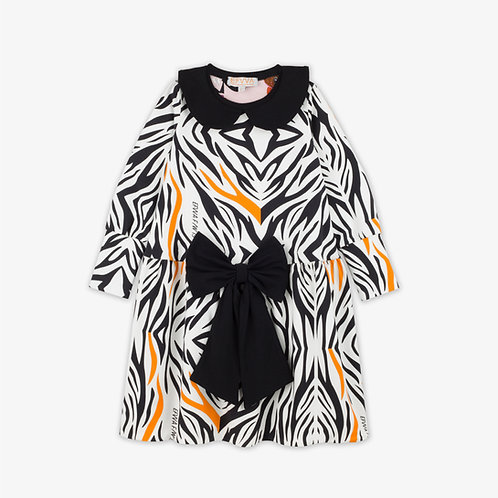 Lena Zebra Dress