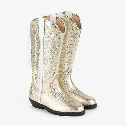 Golden Pony Cowboy Boots