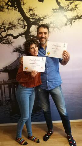 Reiki master certificaat