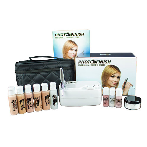 Airbrush Makeup Kit (Medium to tan)