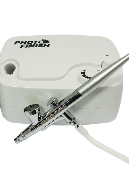 Air Compressor and Airbrush Gun