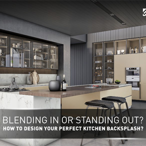 Blending In or Standing Out? How To Design Your Perfect Kitchen Backsplash?
