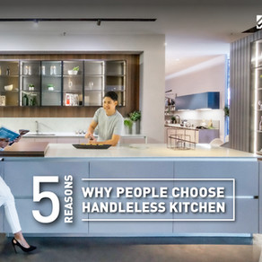 5 Reasons Why People Choose Handleless Kitchen