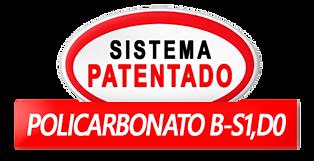 sistema patentado policarbonato b-s1,do.