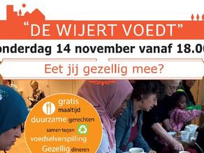 Nieuwe editie De Wijert Voedt op 14 november