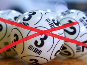Bingo oktober afgelast!