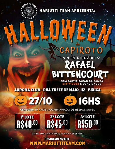 Halloween do capiroto