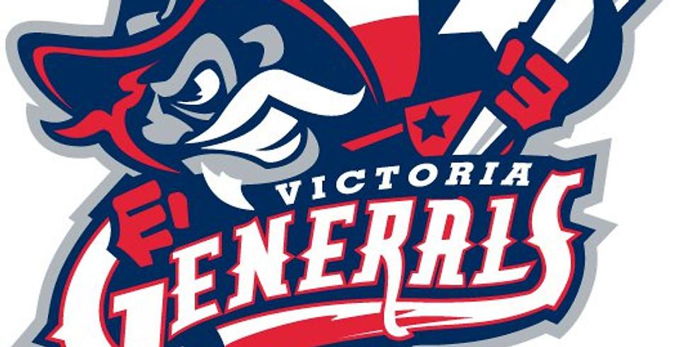 Warrior's Weekend Night at Victoria Generals Ball Game