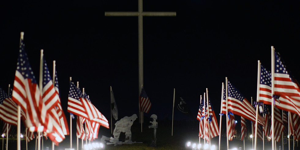 Warrior's Weekend Field of Honor Flag Pick up