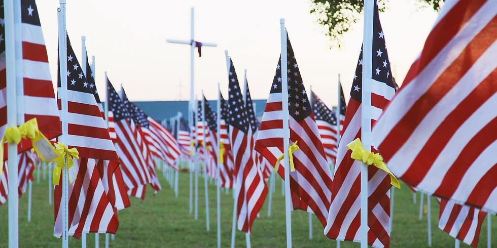 Warrior's Weekend Field Honor Dedication Ceremony