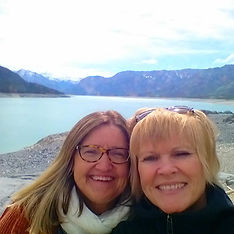 Heather and I celebrating our Alberta Ag