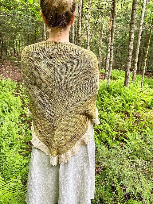 Road of Life Shawl Knitting Pattern