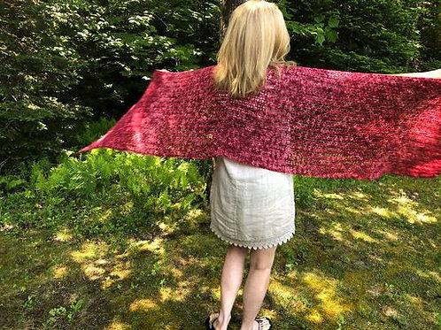 Berry Picking Shawl Crochet Pattern