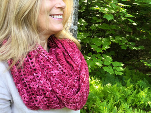 Berry Picking Shawl Free Crochet Pattern