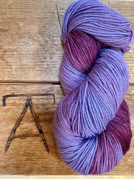 Sport Yarn 3-ply Purple + Plum Variegated