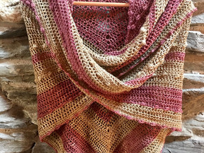 The Bubbling Brook Shawl