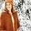 Thumbnail: The Fox Whisperer Hooded Shawl/Cape Knitting Pattern