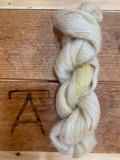 Mohair Silk Lace Yarn Tiger Lily