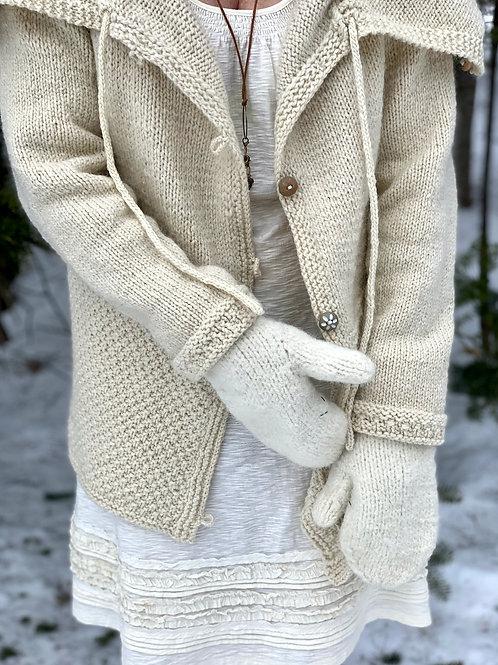 Frost Fairy Jacket Knitting Patten