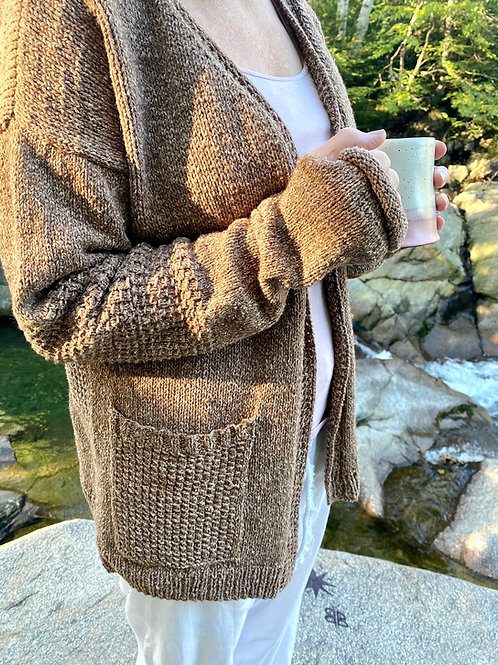 Pajama Cardigan Knitting Pattern