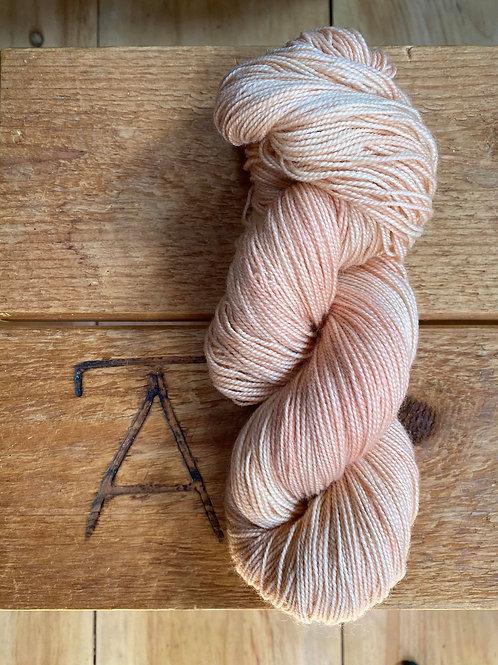 Fingering Yarn 2-Ply Sock Peach Tonal