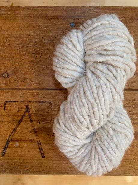 Super Bulky Yarn Natural Ecru Cream Undyed