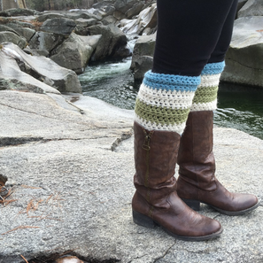 The Hooksett Legwarmers FREE crochet pattern