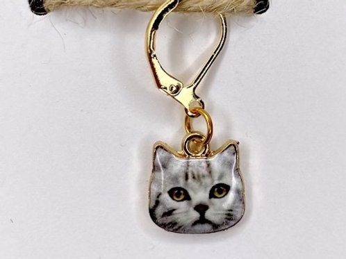 Cat Progress Keeper 14k Gold