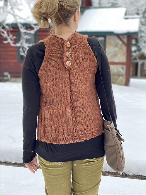 The Gathering Vest Knitting Pattern