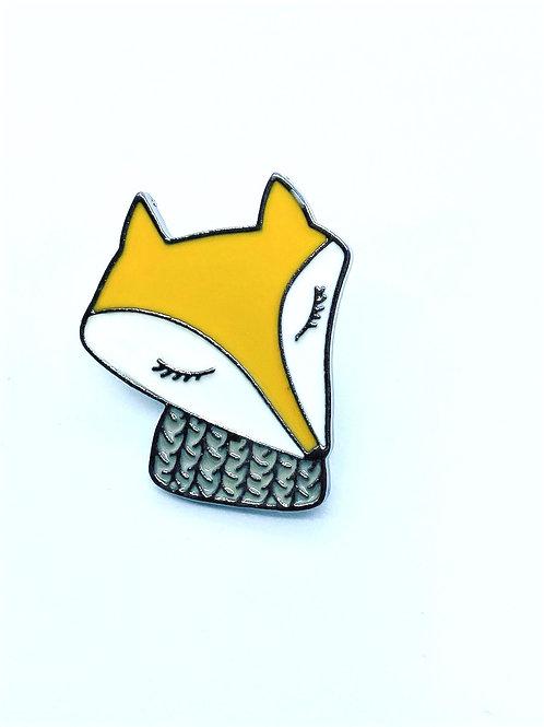 Fox Enamel Pin