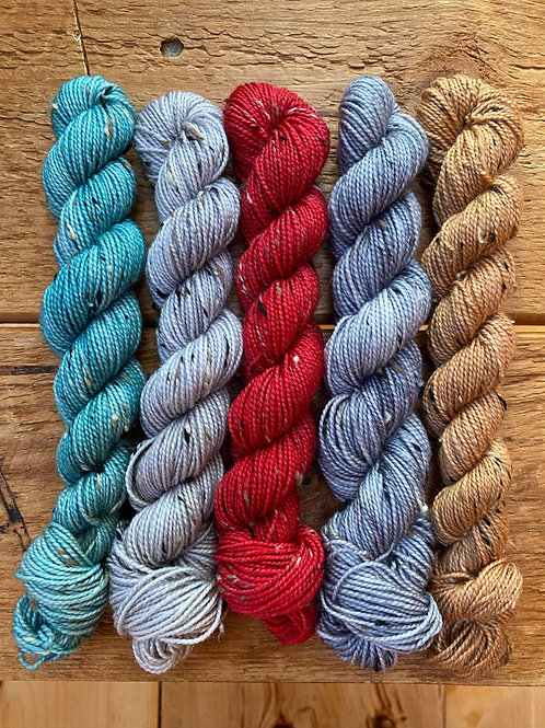 Winter Tweed Mini-Skein Set