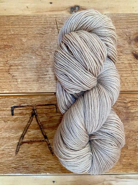 Fingering Yarn 4-Ply Sock Tan Solid