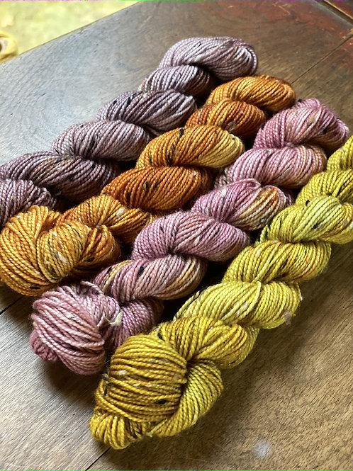 Tweed Mini-Skein Set of 4