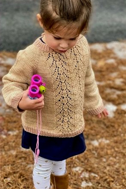 No Place Like Home Sweater Knitting Pattern