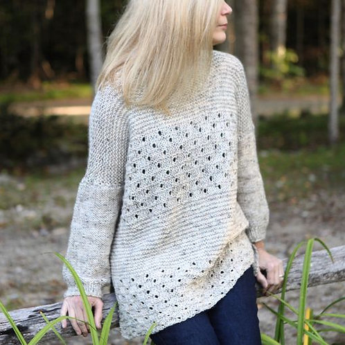 Five Days Sweater Knitting Pattern
