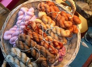 Naturally Hand Dyed Yarn