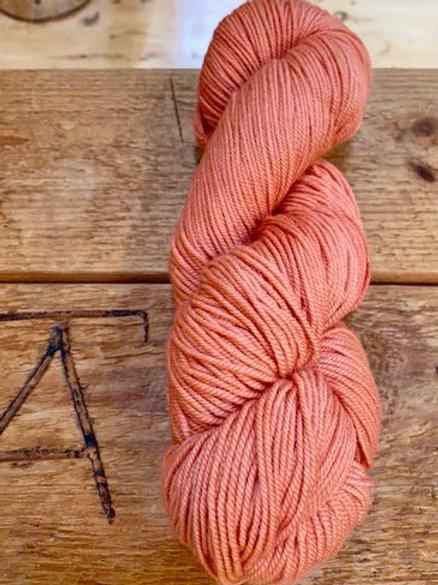 Sport Yarn 2-ply Pink Orange Tonal