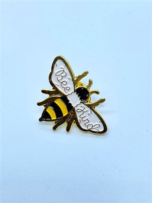 Bee Kind Honey Bee Enamel Pin