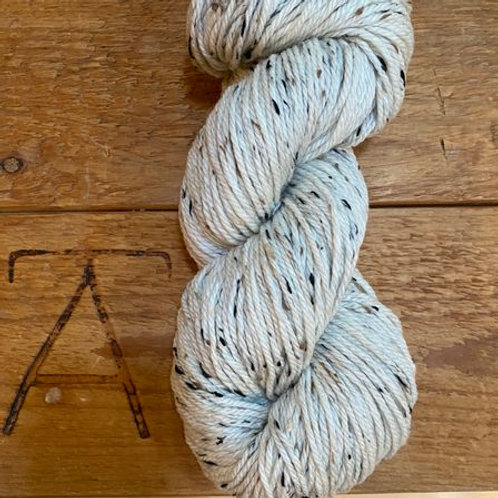 Aran Yarn Natural Cream Tweed Undyed