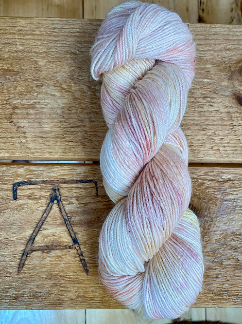 Fingering Yarn 4-Ply Sock Pastel Multi Variegated