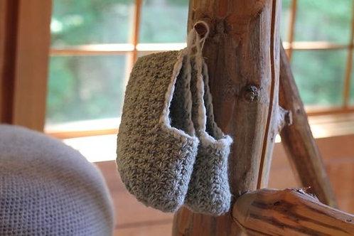 Star Stich Slippers Crochet Pattern